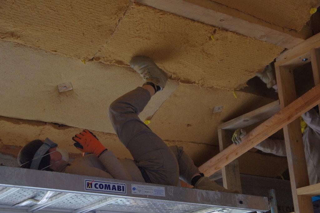 Isolation toiture et cheminée